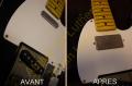Remplacement micro Fender Telecaster (nécessitant une défonce)