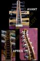 Modification du système d'accordage de ce Oud (adaptation du mécanisme moderne)