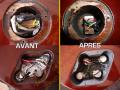 Réfection du câblage électronique & remplacement des composants (+ blindage graphite)